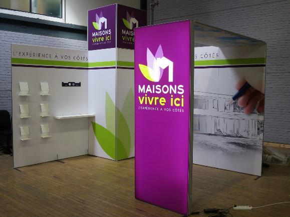 Présent au Salon de l'Habitat de Cherbourg