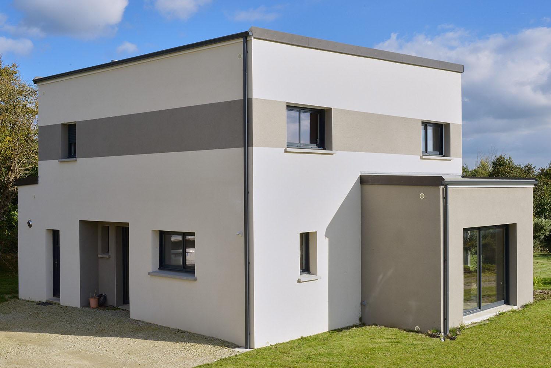 Maison Contemporaines Cubique - Saint Lo - 03