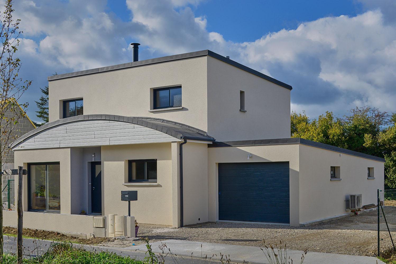 Maison Contemporaines Cubique - Saint Lo - 08