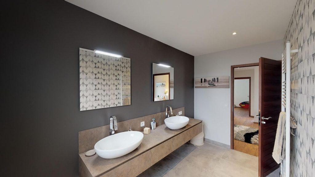 maisons vivre ici salle de bain