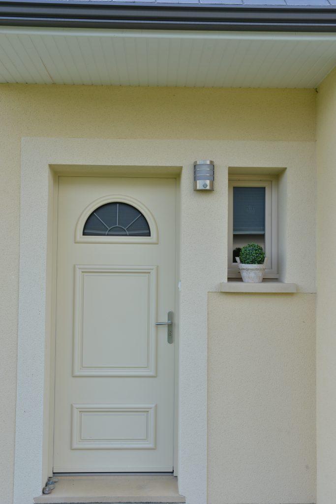 porte d'entrée maisons vivre ici