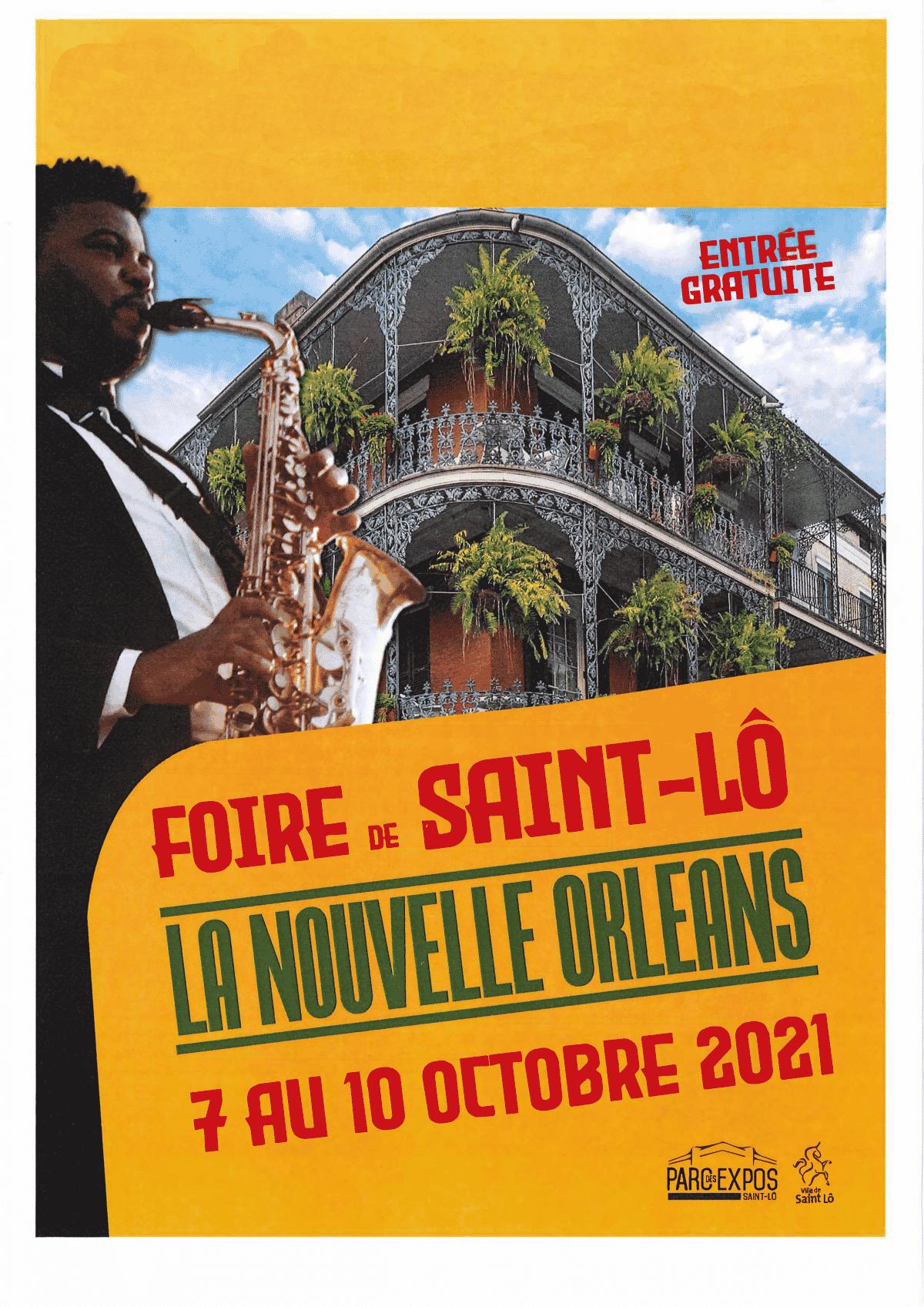 Foire de Saint-Lô : 7 au 10 octobre 2021