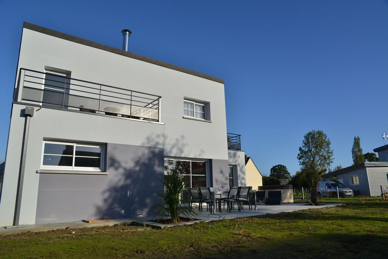 Maison Contemporaine Toit Terrasse maisons contemporaines : maisons vivre ici - saint lô